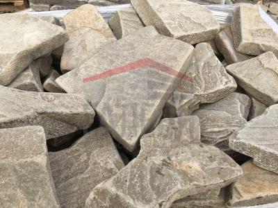 Камень бут серый галтованный